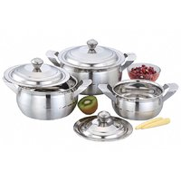 Klassic Vimal 3Pcs Classic Dts Silver Touch Dish