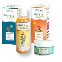 Spring Flower Skin Brightening Glow Kit