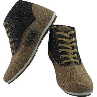 Elvace Grey_brown Teenex Sneakers Men Shoes-7020