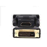 DVI-D Male To HDMI Female Gold Adapter Coupler
