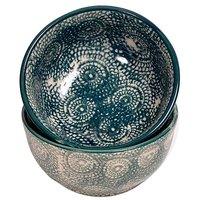 Classy Ceramic Bowls (Set Of 2)