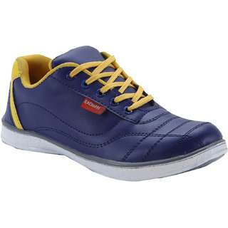 Bachini Mens Casual Shoes 1512-Navy Blue