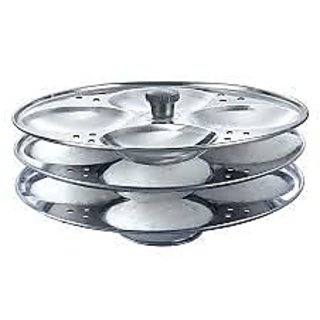 Kitchenware Stainless Steel Idli Stand Available At