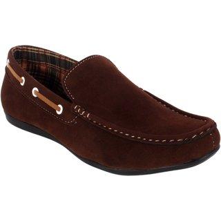 George Adam Men'S Brown Casual Shoe Ch2201-brown
