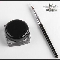 New Cosmetic Waterproof Eye Liner  Make Up Black Liquid Shadow Gel