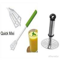 Quick Mixi (Just Press To Mix)  And Pav Bhaji Masher