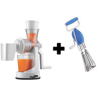 Fruit Juicer With Beater Mixer Hand Blender