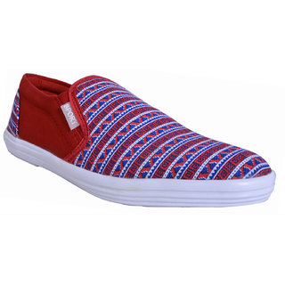 Van Smithsoul Men' S Red Casual Shoe