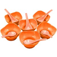 6 Pcs Bowl Set With Spoon