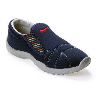 Advice Women's Blue Slip On Casual Shoe