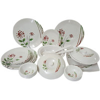 Elegant Redley Gold Thirty Two-piece Dinner Set - 82731046