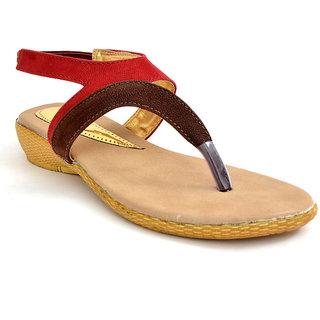 Lee Walk Women's Brown Sandels