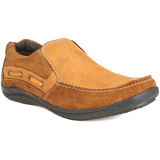 Guava Leather Loafers - Tan