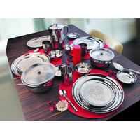 Stainless Steel  51 Pcs Dinner Set