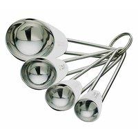 King - International Stainless Steel Measuring Spoon Set Of 4 Pcs