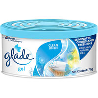Glade Gel Air Freshener Clean Linen 70 gm