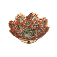Rajrang Serving Classic Brass Bowl # BSH00091 (Pack Of 1)