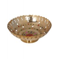 Rajrang Serving Classic Brass Bowl # BSH00097 (Pack Of 1)