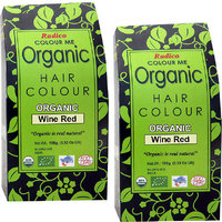 Radico Colour Me Organic Wine Red Hair Colour - 100g (Set Of 2)