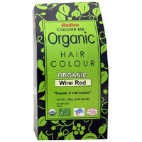 Radico Colour Me Organic Wine Red Hair Colour - 100g