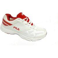 Fila White Lightweight Sports Shoe,s For Men,s