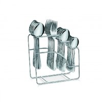 SNB Stainless Steel Cutlery Set Of 24 Pcs - 83155357