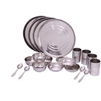 Zahab Royal High Quality Stainless Steel-Dinner Set 20 Pcs