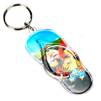 Skyways Slipper-Girl Key Chain (Multicolor)(Kr-53-Slip-Girl)