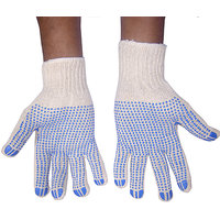 House Keeping Products Dotted Cotton Hand Gloves 1 pair 2 Gloves Soft Drive Wo