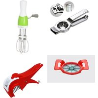 SHRI KRISHNA COMBO OF BLENDER, LEMON SQUEEZER, VEG CUTTER AND APPLE CUTTER