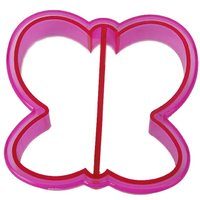 Butterfly Shaped Sandwich Cutter Cookie Biscuit Cutter - Fuchsia
