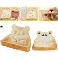 Panda Shaped Frog Toast Sandwich Maker Bread Mould Cutter DIY Maker