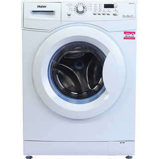 Haier HW70-1279 Fully-automatic Front-loading Washing Machine (7 Kg, 4 Star Rating, White)