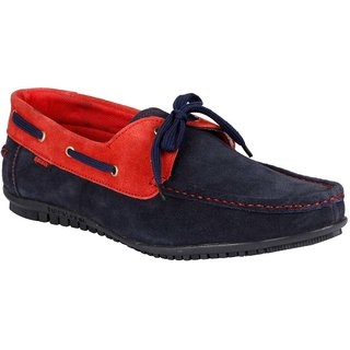 Bachini Mens Casual Shoes  (1525-Navy Blue)