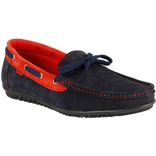 Bachini Mens Casual Shoes  (1526-Navy Blue)