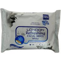 London Refreshing Facial Wipes (White)