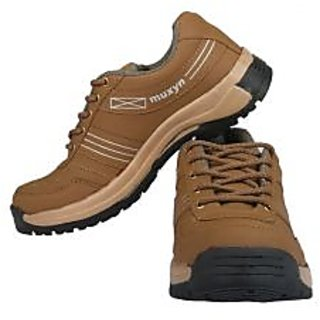 Muxyn Mens Stylish Brown Casual Shoes