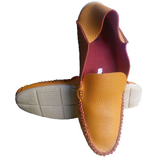 Mens Stylish Casual Loafer Shoes - Brown Color
