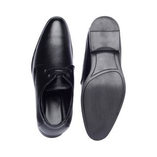 Bruno Manetti Enchanting Black Formal Shoes
