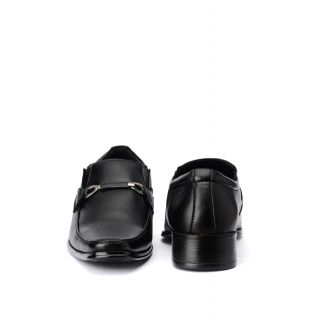 Bruno Manetti Snazzy Black Formal Shoes