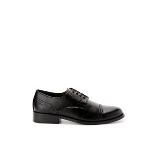 Bruno Manetti Luxurious Black Formal Shoes