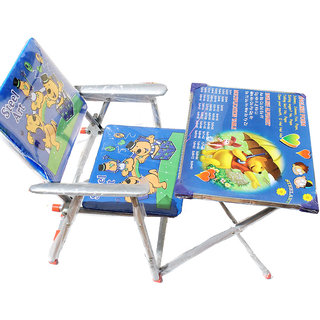 Kids Folding Study table and chair available at ShopClues for Rs.599