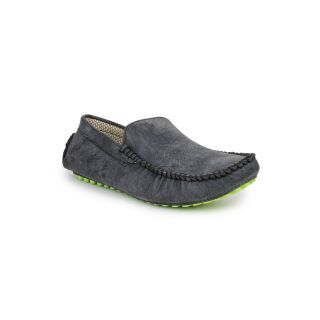 DIGNI BLACK Synthetic Slip On Mens Loafers - 83902269