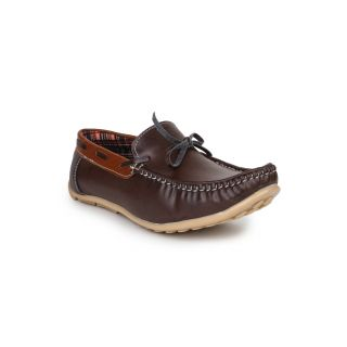 DIGNI BROWN Synthetic Slip On Mens Loafers - 83908400
