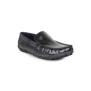 DIGNI BLACK Synthetic Slip On Mens Loafers - 83911885