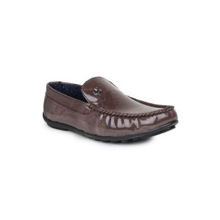 DIGNI BROWN Synthetic Slip On Mens Loafers - 83912325