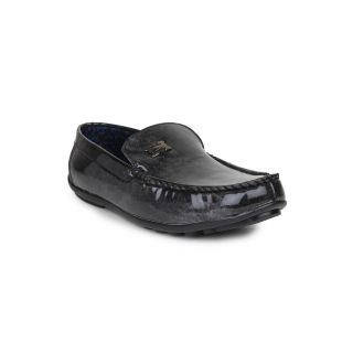DIGNI BLACK Synthetic Slip On Mens Loafers - 83913654