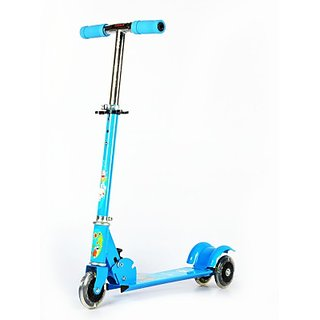 Kids Scooter  3 wheels Metallic Body  available at ShopClues for Rs.679