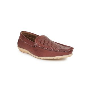 DIGNI BEIGE Synthetic Slip On Mens Loafers
