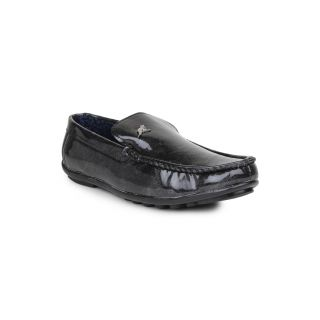 DIGNI BLACK Synthetic Slip On Mens Loafers - 83918066
